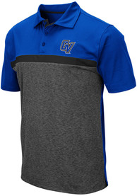 Grand Valley State Lakers Colosseum Capital Polo Shirt - Charcoal