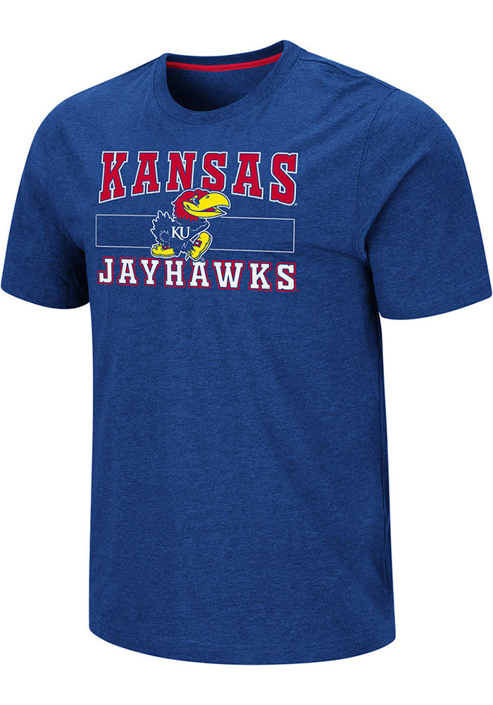 Kansas Jayhawks Colosseum Swanson T Shirt - Blue