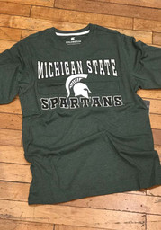 Michigan State Spartans Colosseum Swanson T Shirt - Green