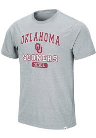 Oklahoma Sooners Colosseum Wyatt T Shirt - Grey