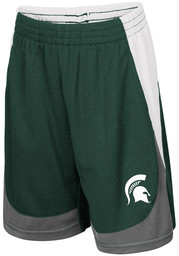 Colosseum Michigan State Spartans Toddler Green Hall of Fame Bottoms Shorts