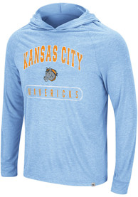 Kansas City Mavericks Colosseum Dexthart Hooded Sweatshirt - Light Blue