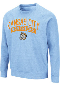 Kansas City Mavericks Colosseum Recreation Crew Sweatshirt - Light Blue