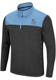 Kansas City Mavericks Colosseum Rangers 1/4 Zip Pullover - Black