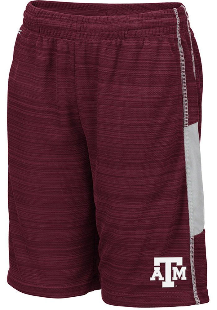 Colosseum Texas A&M Aggies Youth Maroon Wewak Shorts - Image 1