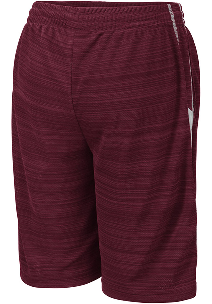 Colosseum Texas A&M Aggies Youth Maroon Wewak Shorts - Image 2