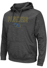 Pitt Panthers Colosseum Pace Hood - Charcoal