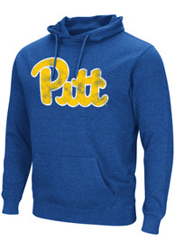 Pitt Panthers Colosseum Campus Hooded Sweatshirt - Blue