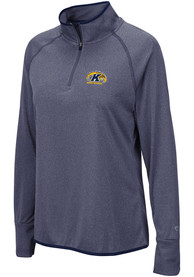Kent State Golden Flashes Womens Colosseum Bailey 1/4 Zip - Blue