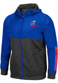 Kansas Jayhawks Colosseum Buster Medium Weight Jacket - Blue
