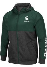 Michigan State Spartans Colosseum Buster Medium Weight Jacket - Green