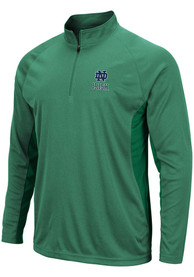 Notre Dame Fighting Irish Colosseum Kliff 1/4 Zip Pullover - Green
