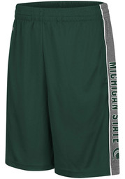 Colosseum Michigan State Spartans Youth Green Copepod Shorts