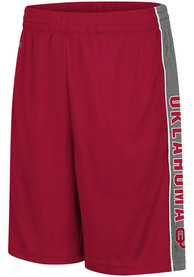 Oklahoma Sooners Youth Colosseum Copepod Shorts - Cardinal