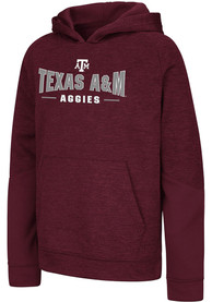 Texas A&M Aggies Youth Colosseum Pods Hooded Sweatshirt - Maroon