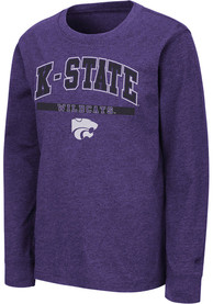 K-State Wildcats Youth Colosseum Wumbo T-Shirt - Purple