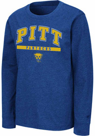 Colosseum Pitt Panthers Youth Blue Wumbo T-Shirt