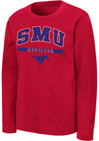 SMU Mustangs Youth Colosseum Wumbo T-Shirt - Red