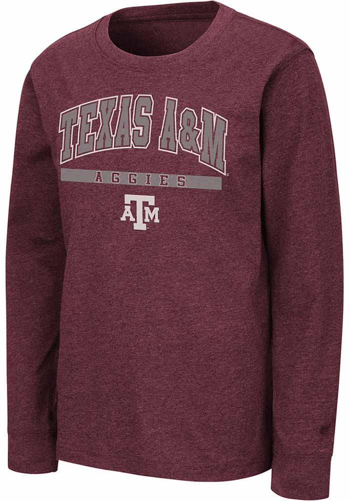 Colosseum Texas A&M Aggies Youth Maroon Wumbo T-Shirt