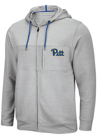 Pitt Panthers Colosseum Challenge Accepted Zip - Grey