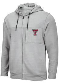 Texas Tech Red Raiders Colosseum Challenge Accepted Zip - Grey