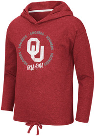 Oklahoma Sooners Girls Colosseum Boating School Long Sleeve T-shirt - Cardinal