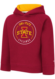 Iowa State Cyclones Toddler Colosseum Plankton Hooded Sweatshirt - Cardinal