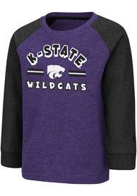 K-State Wildcats Toddler Colosseum Squidward T-Shirt - Purple
