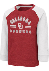 Oklahoma Sooners Toddler Colosseum Squidward T-Shirt - Cardinal