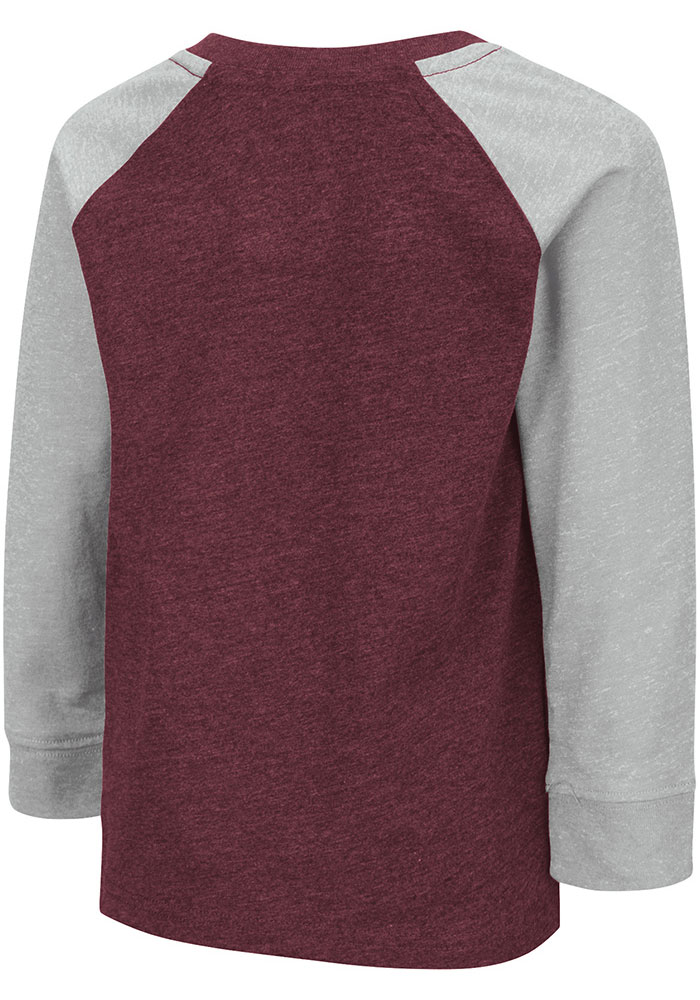 Colosseum Texas A&M Aggies Toddler Maroon Squidward Long Sleeve T-Shirt - Image 2