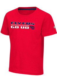 Dayton Flyers Toddler Colosseum Patrick T-Shirt - Red