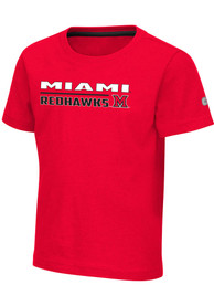 Miami RedHawks Toddler Colosseum Patrick T-Shirt - Red