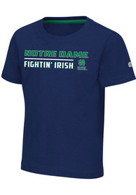 Notre Dame Fighting Irish Toddler Colosseum Patrick T-Shirt - Navy Blue