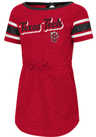Colosseum Texas Tech Red Raiders Toddler Girls Red Pineapple Dresses