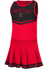 Texas Tech Red Raiders Toddler Girls Colosseum Pinky Cheer - Red