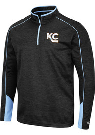 Kansas City Mavericks Colosseum Aldrin 1/4 Zip Pullover - Black