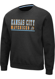 Kansas City Mavericks Colosseum Rally Crew Sweatshirt - Grey