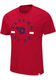 Colosseum Dayton Flyers Red High Fives Tee