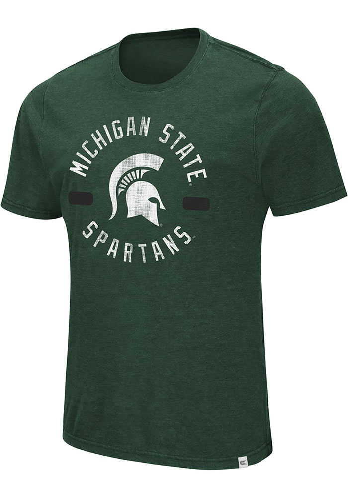 Colosseum Michigan State Spartans Green High Fives Tee