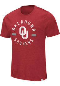 Colosseum Oklahoma Sooners Crimson High Fives Tee
