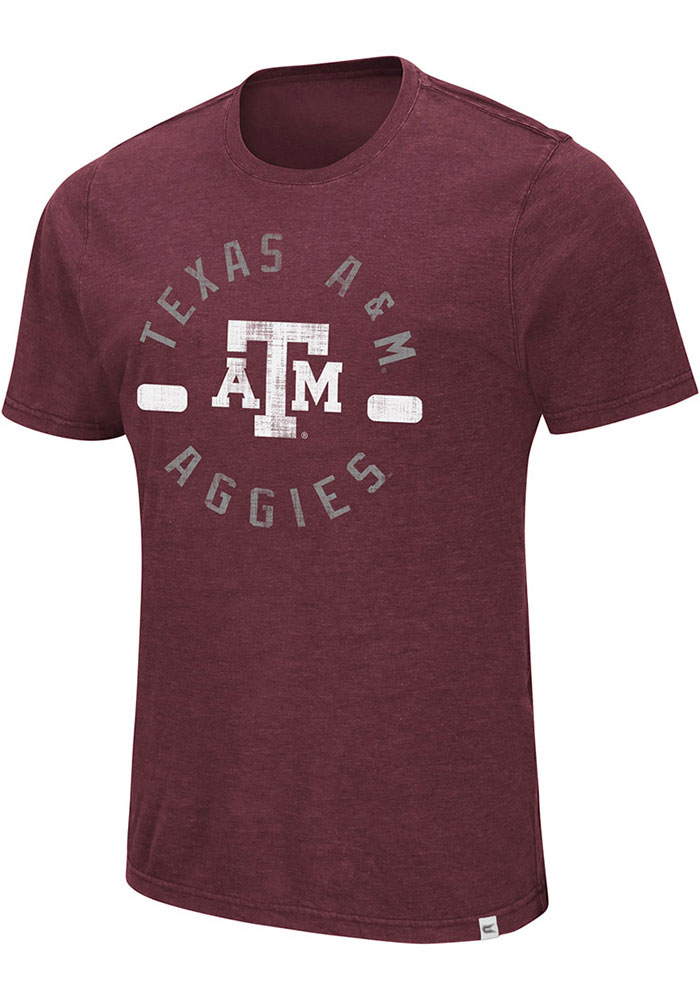 Colosseum Texas A&M Aggies Maroon High Fives Tee