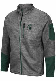 Colosseum Michigan State Spartans Grey Matchmaker Light Weight Jacket