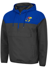 Kansas Jayhawks Colosseum Lawyered Light Weight Jacket - Charcoal