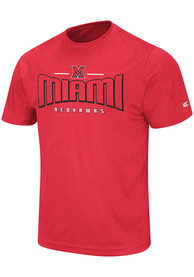 Colosseum Miami Redhawks Red Hooked Tee
