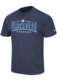 Washburn Ichabods Colosseum Hooked T Shirt - Navy Blue