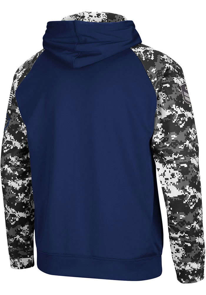 Colosseum Penn State Nittany Lions Mens Navy Blue Fitty Hood - Image 2