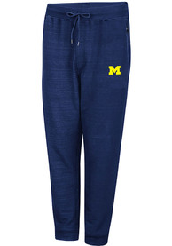 Michigan Wolverines Colosseum Challenge Accepted Jogger Pants - Navy Blue