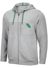 North Texas Mean Green Colosseum Challenge Accepted Zip - Grey