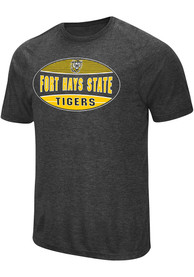 Fort Hays State Tigers Colosseum Jenkins T Shirt - Black