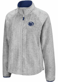 Penn State Nittany Lions Womens Colosseum Astronomy Light Weight Jacket - Grey